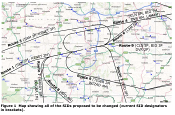 Route map widget 350x230