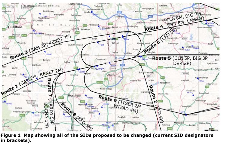 Maps community against gatwick noise emmisions 2015 night countour maps publicscrutiny Images